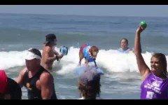 El mundial de surf para perros