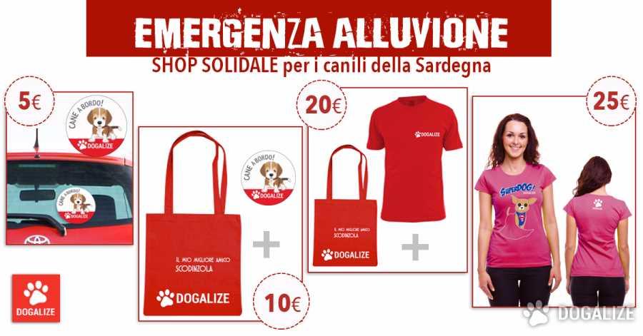 shop solidale per i canili