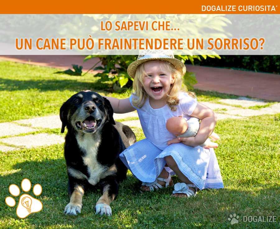 Lo sapevi che… un cane può fraintendere un sorriso?