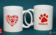 offerta pet shop mug forma zampa