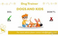 dog trainer - dogs and kids