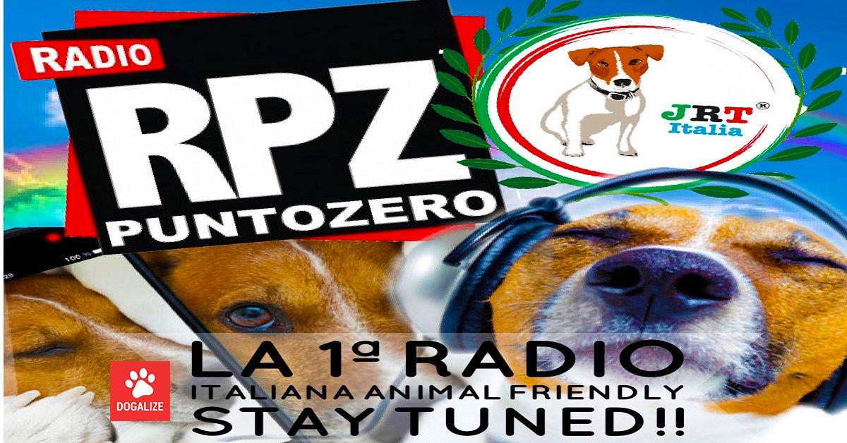 Ascolta Radio Punto Zero, la radio canina con Dogalize; ci siamo anche noi con le nostre pillole Dogalize!