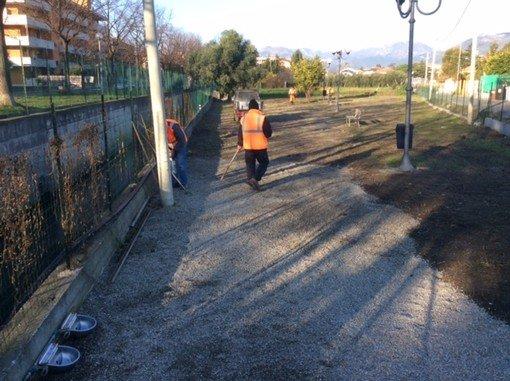 Area per cani attrezzata inaugura ad Albenga