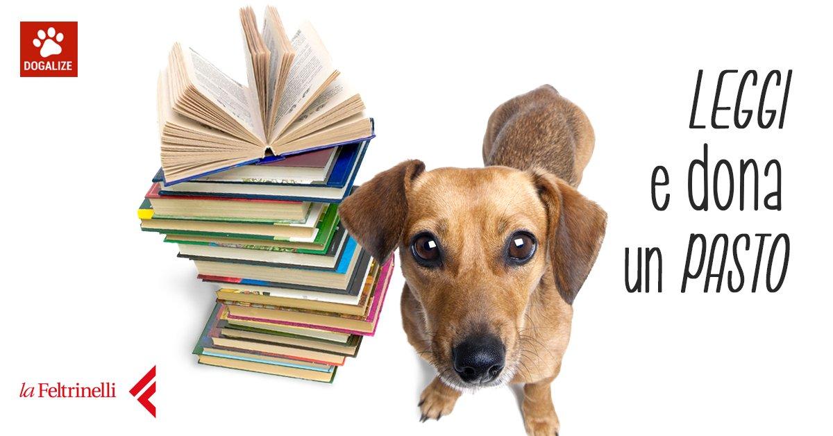 Acquista un libro e doni un pasto a un animale in difficoltà!