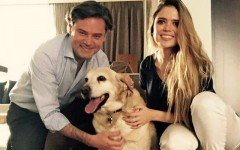 Nuño Mayer, Secretario de Educación adopta perro policia