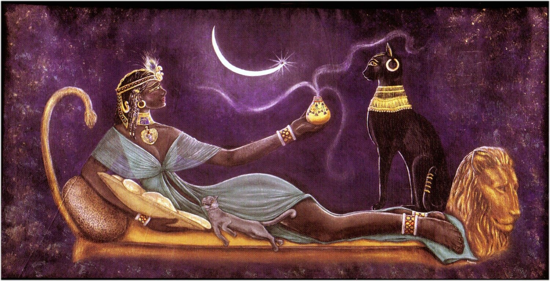 Resultado de imagen para gatos egipcios
