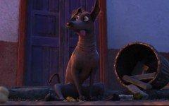 Dante, el perro sin pelo de Coco, lo nuevo de Pixar