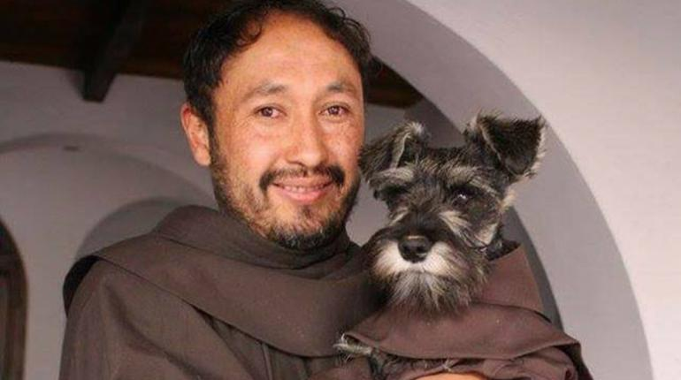 Fra' Baffo, il cane randagio adottato dal Monastero