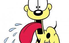 Razza del cane di garfield, il beagle Odie