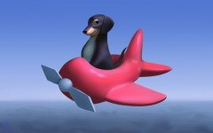 The Dog of Wisdom is an animated video of a surreal situation where a Dachshund is flying on a plane and encounters this dog of wisdom.
