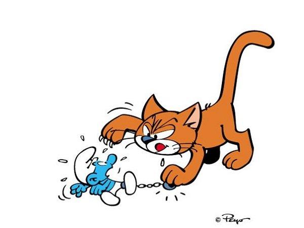 ¿Cómo se llama el gato de Gargamel?: conócelo