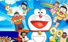 Juegos de Doraemon el gato cósmico: famoso personaje