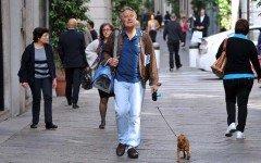 Enzo Iacchetti e il suo amore per il cane Lucino