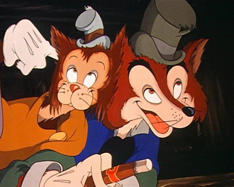 Il gatto e la volpe: i falsi amici di Pinocchio