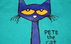 Pete the Cat is an American illustrated book, with pictures from James Dean and text and music from Eric Litwin. It was published first in 2008.