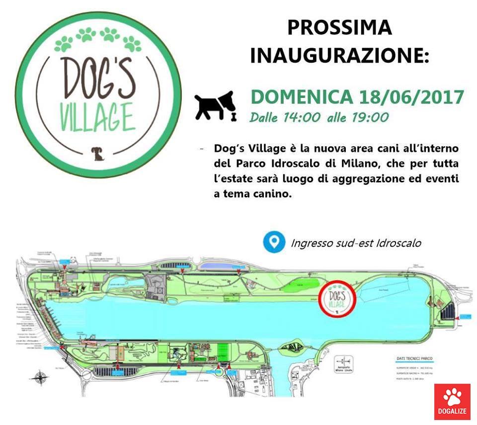 Inaugurazione Dog's Village Idroscalo Milano