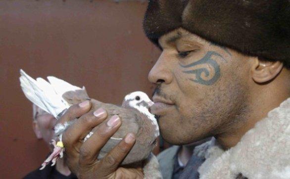 Mike Tyson e il suo grande amore per i piccioni