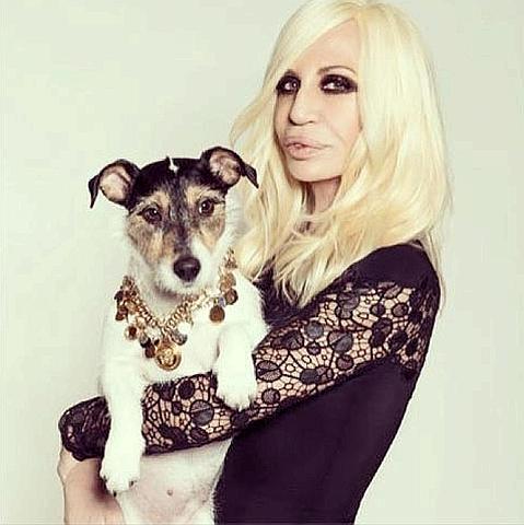 Donatella Versace e la passione senza limiti per la sua Audrey