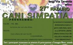 Domenica 24 settembre: 27° Raduno Cani Simpatia!