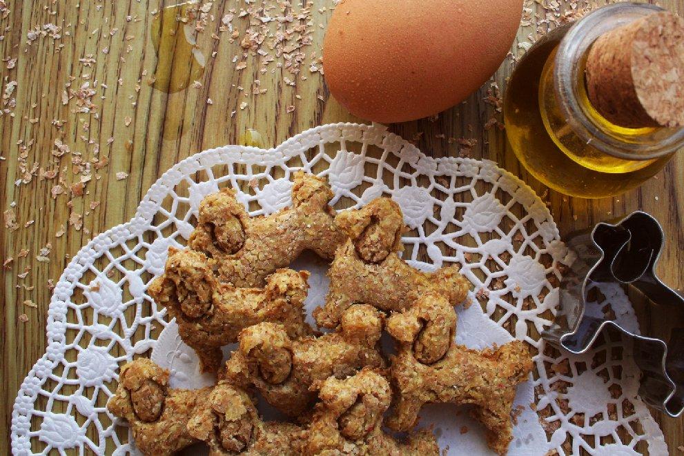 Ricette per cani: biscottini all'olio di oliva