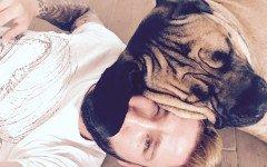 Lorenzo Tonnelli e il suo cucciolone Fuffy