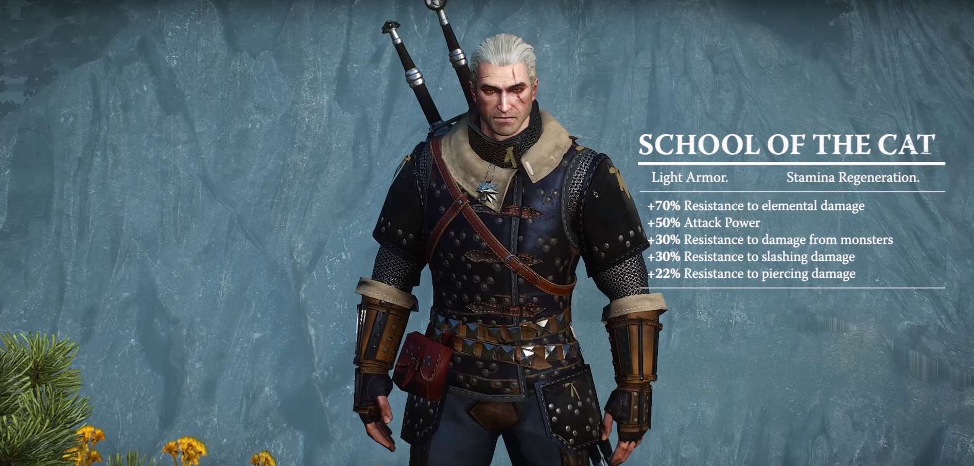witcher 3 cat school gear
