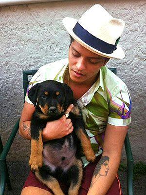 Bruno Mars: ¿conoces su adorada mascota?