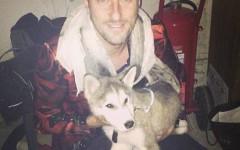 Francesco Facchinetti e l'amore per il suo cane Floyd