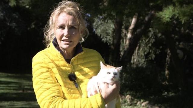 Licia Colò e la sua casa fattoria piena di animali