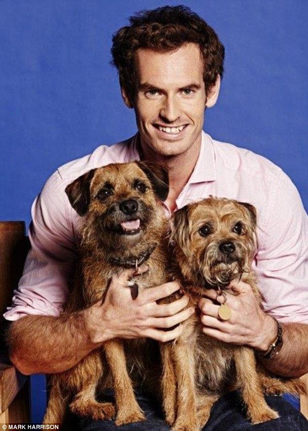 Andy Murray, tennista appassionato di animali