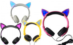 Cat Ear Headphones: Sport Those Cat Ear Headphones