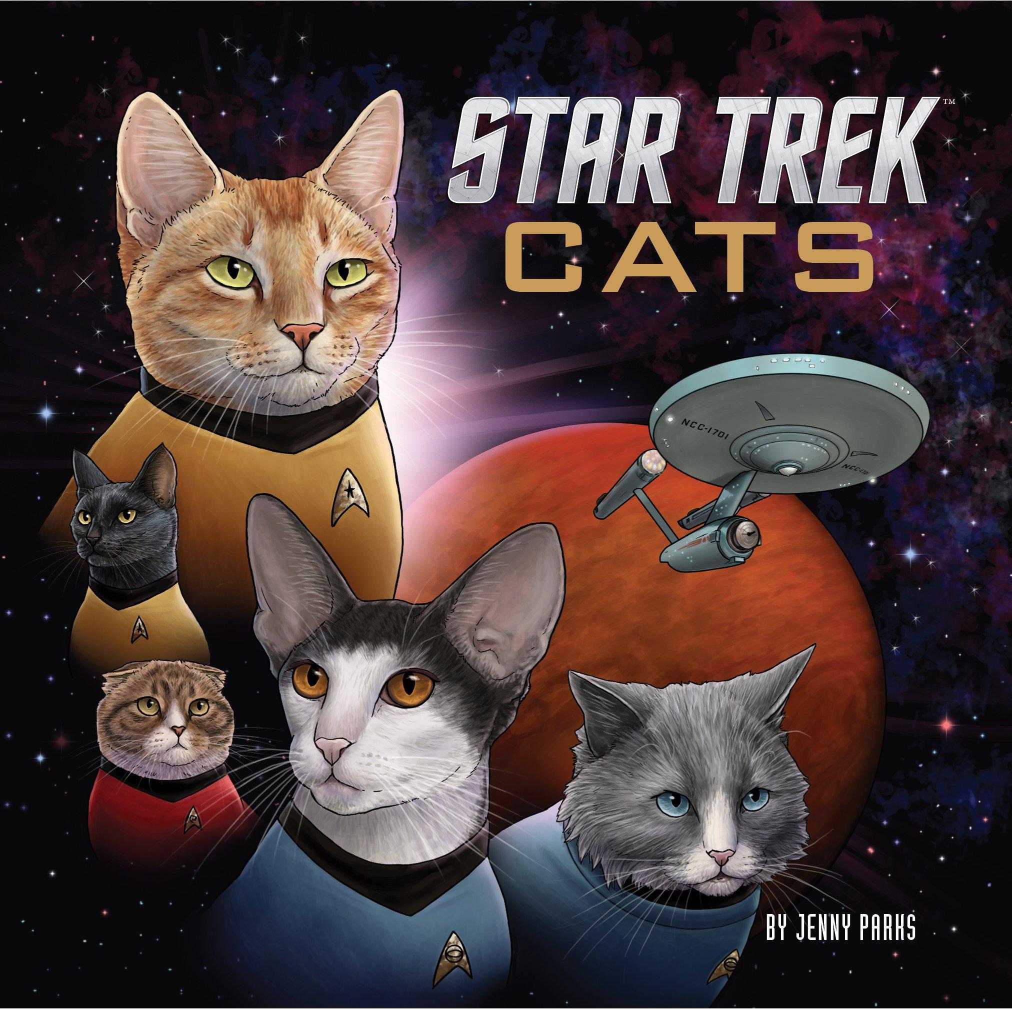 Star Trek Cats: un libro di Star Trek in versione gatto