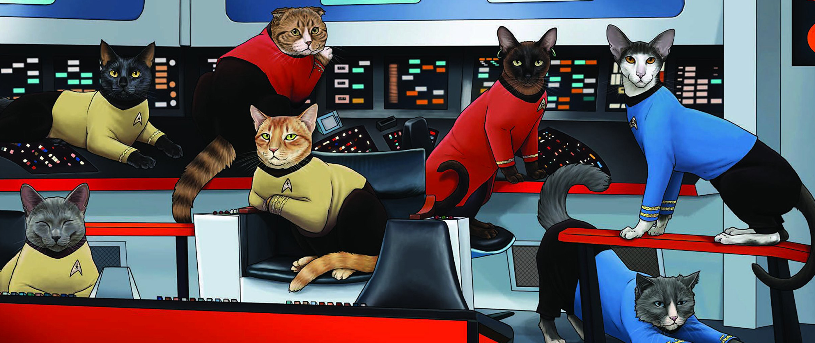 Star Trek Cats: un libro di Star Trek in versione gatto