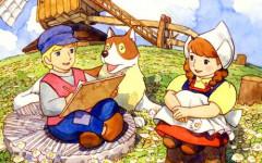 El perro de Flandes: divertida serie japonesa