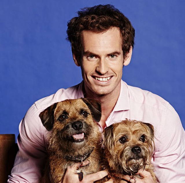 Andy Murray and his Love for Pets