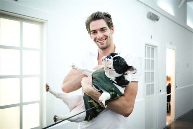 Camille Lacourt and his Love for Animals