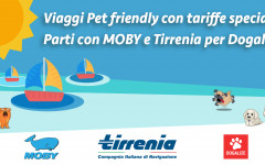 viaggi pet friendly con MOBY e Tirrenia per Dogalize