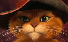 Gato con botas, un ícono felino de la mirada inconfundible