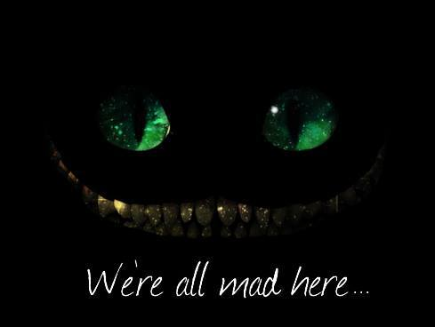 Everything behind the Cheshire cat smile