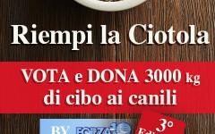 Riempi la ciotola by Forza10: vota e dona 3.000 kg di alimenti