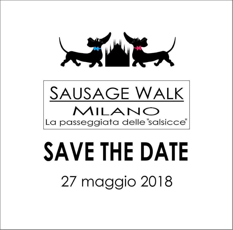 Sausage Walk Milano, la passeggiata delle salsicce