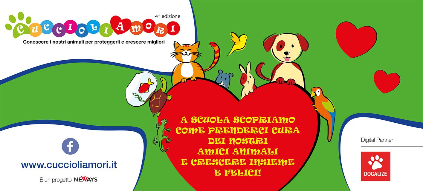 Cuccioliamori, il progetto per le scuole primarie